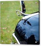 Packard Hood Ornament 1 Acrylic Print