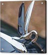 Packard Hood Ornament Acrylic Print