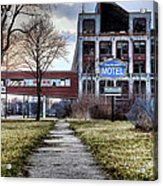 Packard Motel Acrylic Print