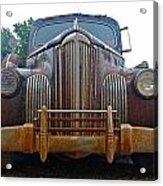 Packard One-eighty Grill Acrylic Print