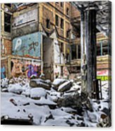 Packard Plant Detroit Michigan - 11 Acrylic Print