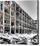 Packard Plant Detroit Michigan - 12 Acrylic Print