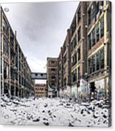 Packard Plant Detroit Michigan - 13 Acrylic Print