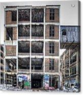 Packard Plant Detroit Michigan - 14 Acrylic Print