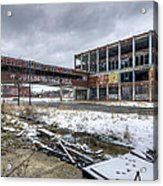 Packard Plant Detroit Michigan - 7 Acrylic Print