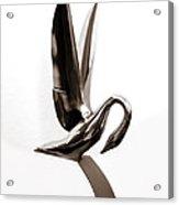 Packard Swan Hood Ornament 1 Acrylic Print