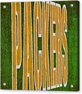 Packers Acrylic Print