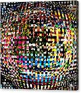 Pacman Gone Awry Acrylic Print