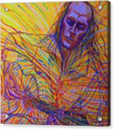 Paco De Lucia And Guardian Angel Acrylic Print