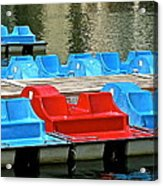 Paddle Boats Acrylic Print
