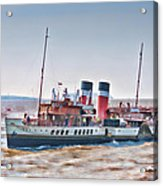 Paddle Steamer Waverley Acrylic Print