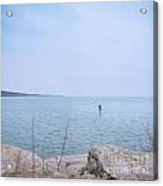Stand-up Paddle Boarding Acrylic Print