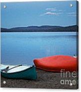 Paddle's End Acrylic Print
