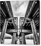 Page Bridge Geometry Acrylic Print