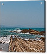 Pages Into The Sea No1 Acrylic Print