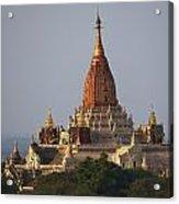 Pagoda In Bagan, Upper Burma Myanmar Acrylic Print