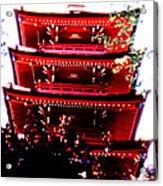 Pagoda Marvel Acrylic Print