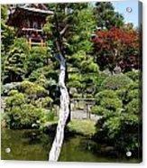 Pagoda On The Lake Acrylic Print