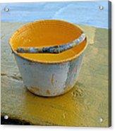 Paint Bucket Acrylic Print