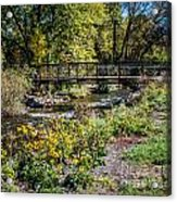 Paint Creek Bridge Acrylic Print