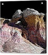 Paint Mines IIi-the Vertex Acrylic Print
