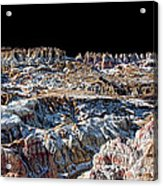 Paint Mines Iv-a Time Of Division Acrylic Print
