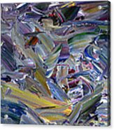 Paint Number 57 Acrylic Print by James W Johnson