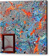Paint Number Forty Acrylic Print
