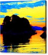 Painting The High Sky And The Deep Sea  Acrylic Print
