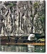 Paint Vietnam Rock Acrylic Print