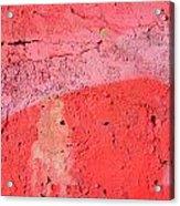 Paint Wall Texture Acrylic Print