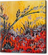 Paintbrush Astray Acrylic Print