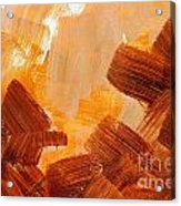 Painted Background Texture Acrylic Print