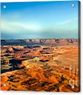 Painted Canyonland Acrylic Print