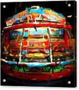 Painted Casino Acrylic Print