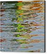 Painted Flow 11 Acrylic Print