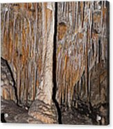 Painted Grotto Carlsbad Caverns National Park Acrylic Print