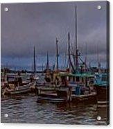 Painted Harbor Acrylic Print