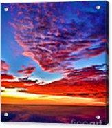 Painted Heavens Acrylic Print