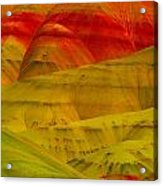 Painted Hills 9 Acrylic Print