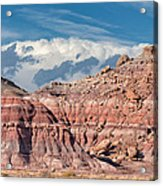 Painted Hills Of The Upper Jurrasic Acrylic Print
