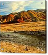 Painted Hills Sunset Acrylic Print