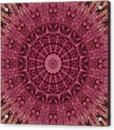 Painted Kaleidoscope 12 Acrylic Print