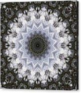 Painted Kaleidoscope 16 Acrylic Print
