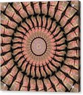 Painted Kaleidoscope 19 Acrylic Print