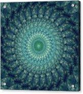 Painted Kaleidoscope 3 Acrylic Print