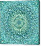 Painted Kaleidoscope 4 Acrylic Print