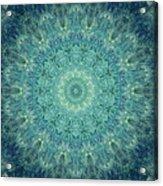 Painted Kaleidoscope 5 Acrylic Print