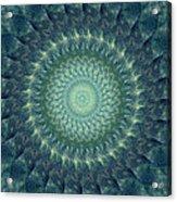 Painted Kaleidoscope 6 Acrylic Print