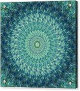 Painted Kaleidoscope 7 Acrylic Print